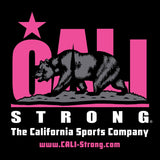 CALI Strong Fuchsia Sticker 4 inch Square Vinyl Decal - Stickers - CALI Strong