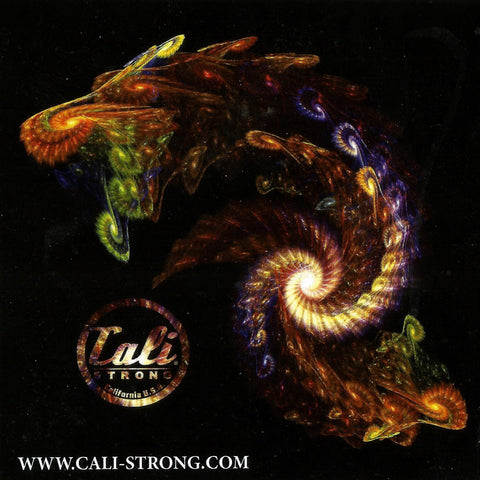 CALI Strong Infinite Dragon Sticker 3.5 inch Square Vinyl Decal - Stickers - CALI Strong