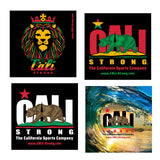 CALI Strong Sticker 4 Pack Series 1A Vinyl Decal Set - Stickers - CALI Strong