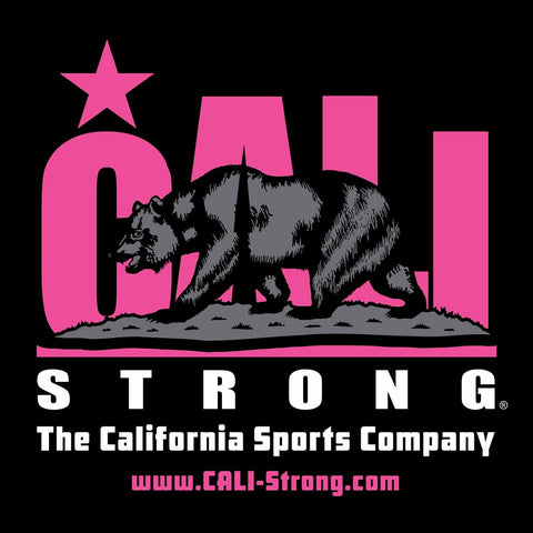 CALI Strong Pink Window Decal 8 inch Vinyl Sticker - Stickers - CALI Strong