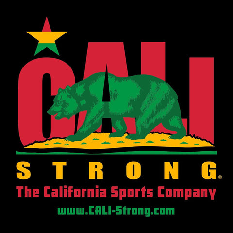 CALI Strong Rasta Window Decal 8 inch Vinyl Sticker - Stickers - CALI Strong