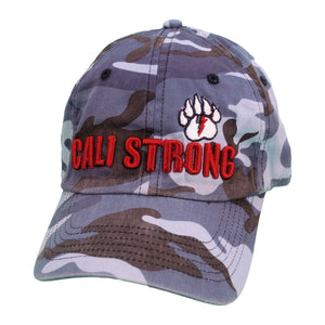 CALI Strong Bear Claw Curved Brim Sea Camo - Headwear - CALI Strong