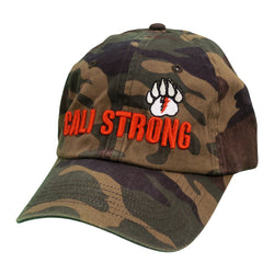 CALI Strong Bear Claw Curved Brim Camo - Headwear - CALI Strong