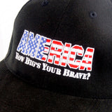 How Big's Your Brave AMERICA Curved Brim Cap - Headwear - CALI Strong