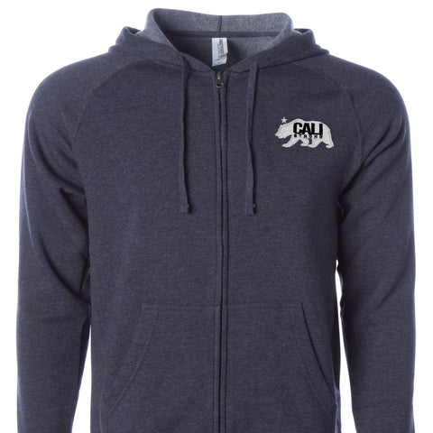 CALI Strong West Coast Zip Hoodie Midnight - Zip Hoodie - CALI Strong