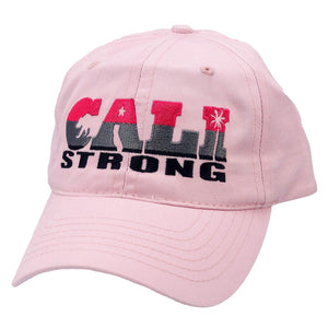 CALI Strong State Pink Petite Women's Cap - Headwear - CALI Strong