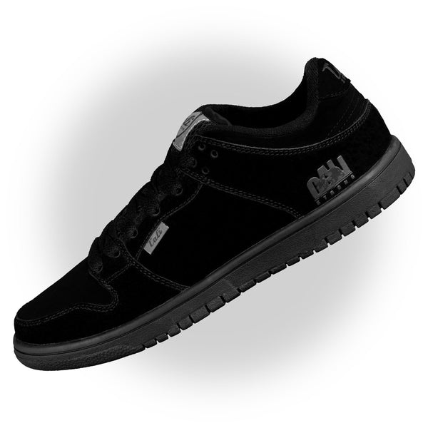 CALI Strong Hollywood Skate Shoe Black Black