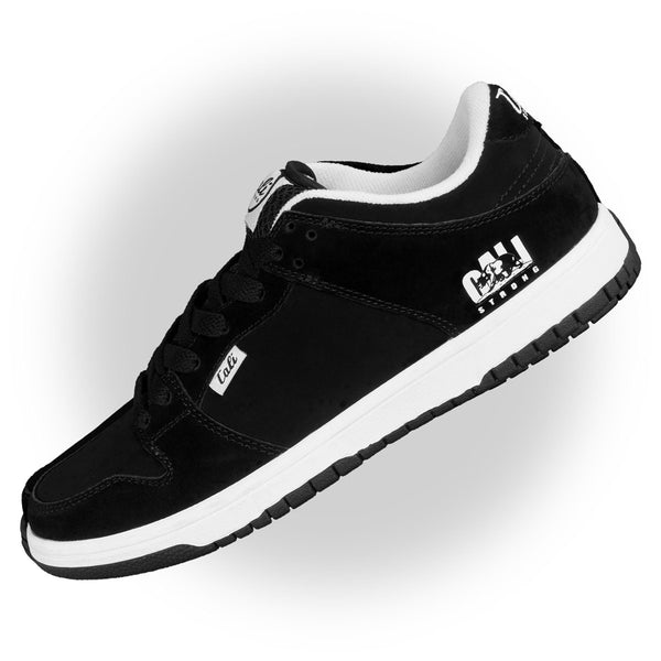 CALI Strong Hollywood Skate Shoe Black White