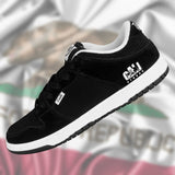 CALI Strong Hollywood Skate Shoe Black White - Shoes - CALI Strong