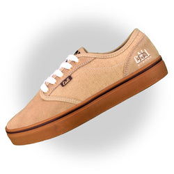 CALI Strong OC Skate Shoe Tan Gum