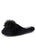 Womens Black/Black Daisy Pouf Slipper