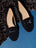 Womens Black Carrie Driving Moccasin 4 Alternate View