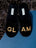 Womens Black Glam Embroidered Slipper 4 Alternate View
