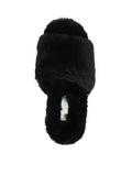 Womens Black Tahoe Single Strap Slipper 7