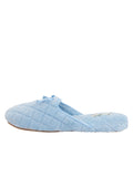 Womens Blue Chloe Microterry Slipper 6