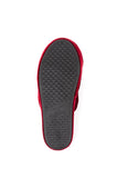 Womens Burgundy Glam Embroidered Slipper 6