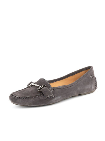 Womens Charcoal Carrie Driving Moccasin