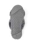 Womens Charcoal Mt. Hood Shearling Slipper 5