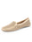 Womens Gold Suede Barrie Driving Moccasin
