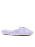 Womens Lavender Chloe Microterry Slipper 4