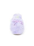Womens Lavender Chloe Microterry Slipper 6