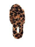 Womens Leopard Tahoe Single Strap Slipper 7