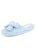 Womens Light Blue Bonnie Microterry Slipper