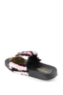 Womens Multi Stripe Foxy Slide 2