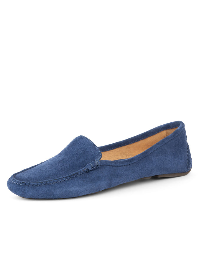Womens Navy Jillian Driving Moccasin