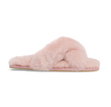 Womens Powder Pink Mt. Hood Shearling Slipper 6