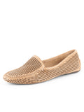 Womens Tan Suede Barrie Driving Moccasin