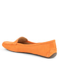 Womens Tangerine Jillian Driving Moccasin 2