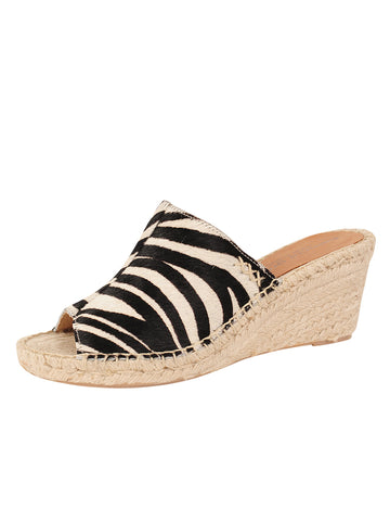 Womens Zebra Jungle Espadrille