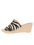 Womens Zebra Jungle Espadrille 6