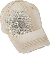 Load image into Gallery viewer, Crystal Bling Baseball Cap