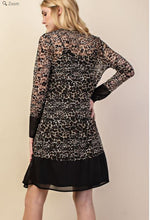 Load image into Gallery viewer, Vocal Leopard Print Lace Duster