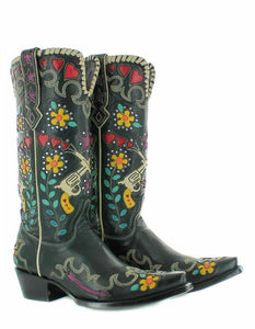 Double D Cowboy Bandit Boot