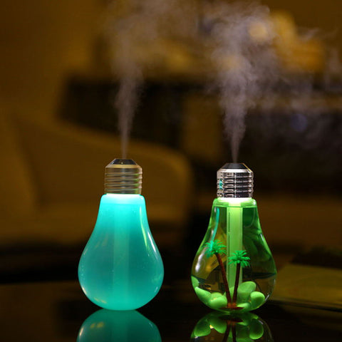 Myadstory - USB Color Changing LED Aromatherapy Humidifier Purifier humidifier