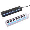 Myadstory - High-Speed USB Hub with 7 ports. Hub