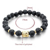Myadstory - Buddha Bracelet For Women and Men Jewerly