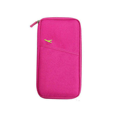 Myadstory - New Arrive Korean Style Passport Wallet Travelus Polyester Multifunction Credit Card Package ID Holder Travel Storage Bag wallet