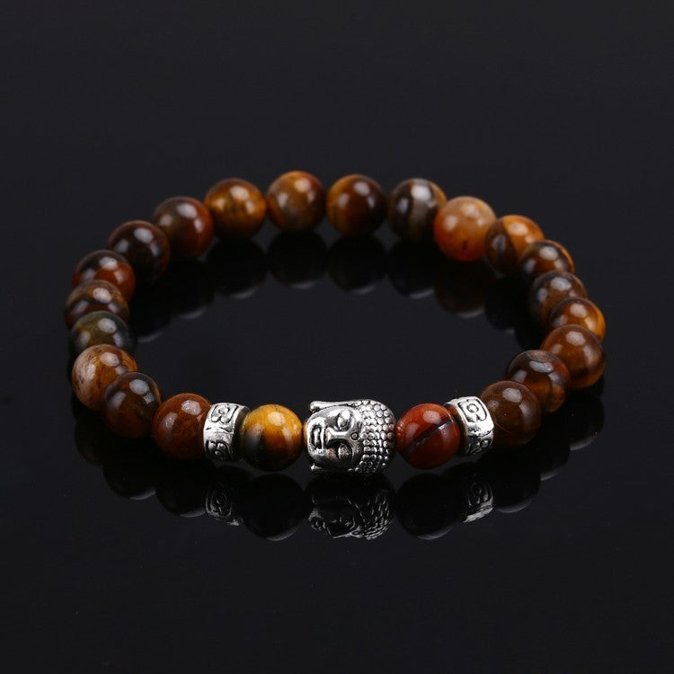 Women Fashion Unisex Charm Punk  Mens Lava Natural Stone