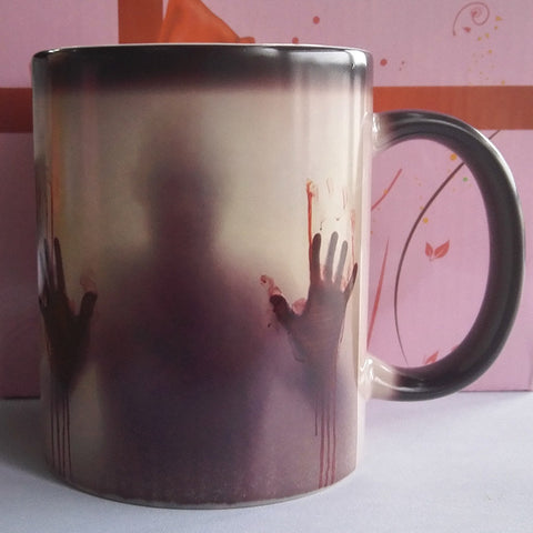 The Walking Dead Mugs Color Change