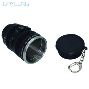 OnePerfectShop - Camera Lens Mug 4oz Mini Coffee Tea Mugs