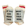 Myadstory - Amazing warm Cold Beer Socks socks