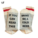 OnePerfectShop - Amazing warm Cold Beer Socks socks