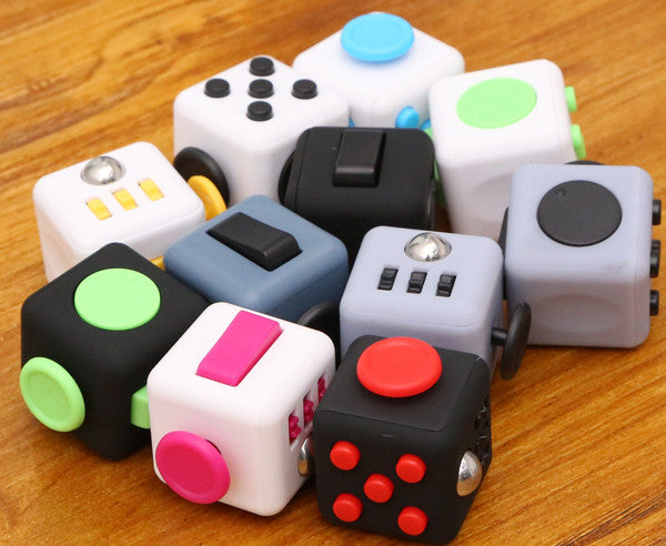 Myadstory - Fun Stress Reliever Gifts Fidget Cube Stress Cube