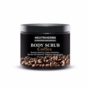 Myadstory - Amazing Natural Coconut Oil Body Scrub Beauty