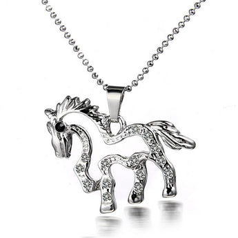 OnePerfectShop - Cute Pendant Horse Necklace Necklace