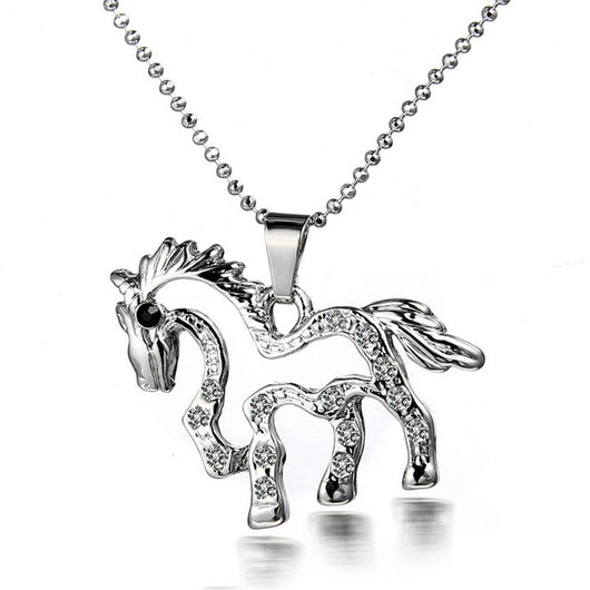 OnePerfectShop - FREE Cute Pendant Horse Necklace Necklace